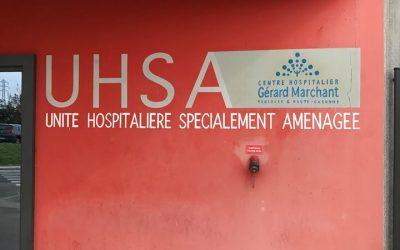 Psychiatrie et prison : visite de l'UHSA de Toulouse