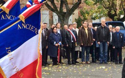 Commémoration du 11 novembre à Saint-Marcel Paulel et Verfeil