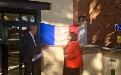 Bruguières : Inauguration de La Taverne, siège du CCAS