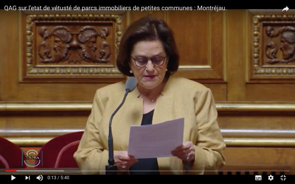Montréjau : état de vétusté du parc immobilier ou l'alerte des petites communes – QAG du 14/05/19
